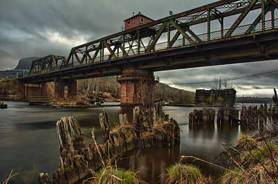 The Unswing Bridge Art Print
