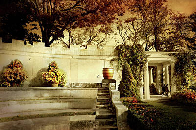Photograph - The Untermyer Wall by Diana Angstadt