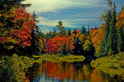The Upper Branch Of The Moose River Art Print