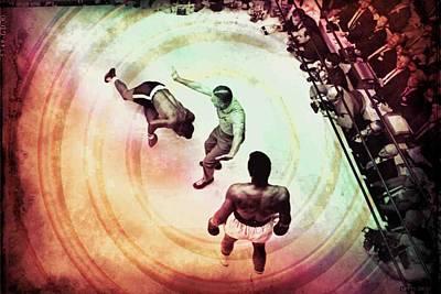 Knockout Mixed Media - The Upset by Allen Beilschmidt