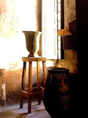 Step Stools Photograph - The Urn by Frederick Lyle Morris