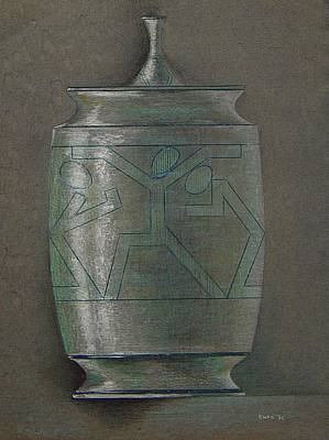 The Urn Art Print by Ron Sylvia