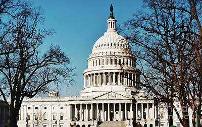 Photograph - The Us Capitol by D Hackett