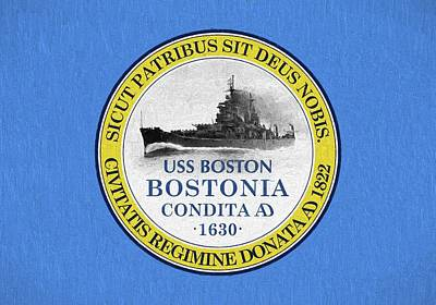 Photograph - The Uss Boston by JC Findley