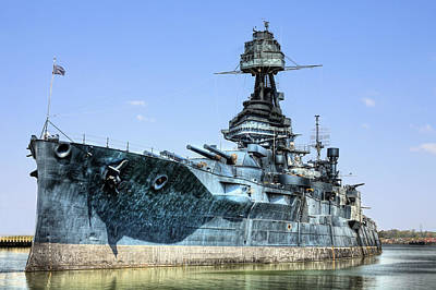 Photograph - The U.s.s. Texas by JC Findley