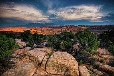 Photograph - The Utah Landscape by John De Bord