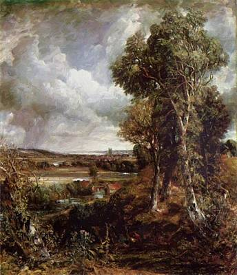 Painting - The Vale Of Dedham 1828 by Constable John