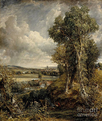Vale Painting - The Vale Of Dedham by MotionAge Designs