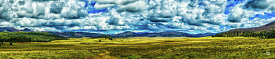 Photograph - The Valles Caldera by Gestalt Imagery