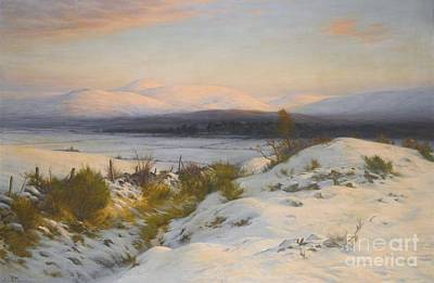 Joseph Farquharson Wall Art - Painting - The Valley Of The Feugh by MotionAge Designs