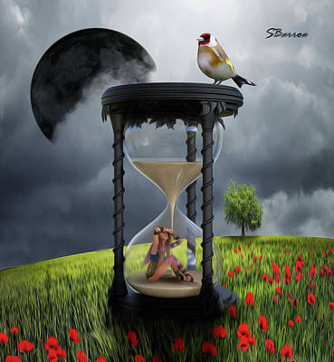 Surrealism Royalty-Free and Rights-Managed Images - The Value of Time by Surreal Photomanipulation