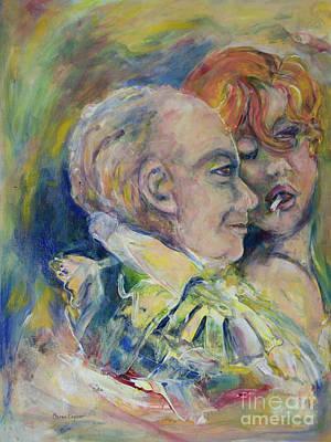 The Vamp And The Gentleman Original by Caren Keyser