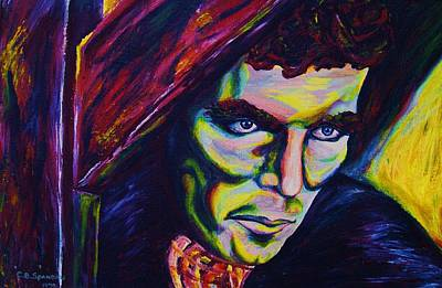 Moyers Painting - The Vampire Lestat by Carole Spandau