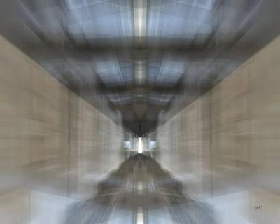 Digital Art - The Vanishing Point by rd Erickson