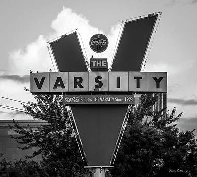 Photograph - The Varsity Atlanta Landmark Signage Art by Reid Callaway