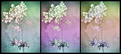 Digital Art - The Varying Moods Of Trees by Tara Turner