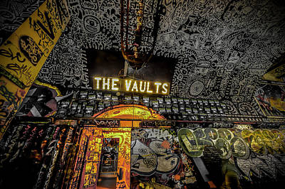 The Vaults - Leake Street Art Print by David Leigh-Jackson