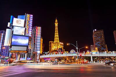 The Vegas Strip Art Print by Matthew Harper