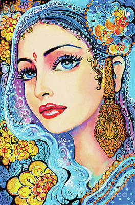 Painting - The Veil Of Aish by Eva Campbell