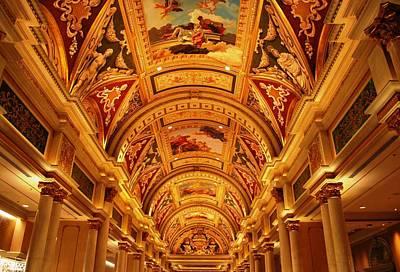 Photograph - The Venetian Ceiling 2 by Matt Harang