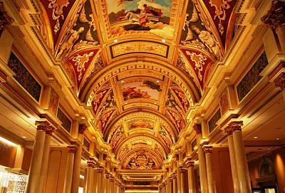Photograph - The Venetian Ceiling  by Matt Harang