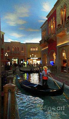 Photograph - The Venetian by John Kolenberg
