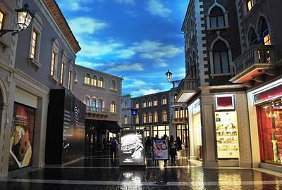 Photograph - The Venetian Shops 2 by Matt Harang