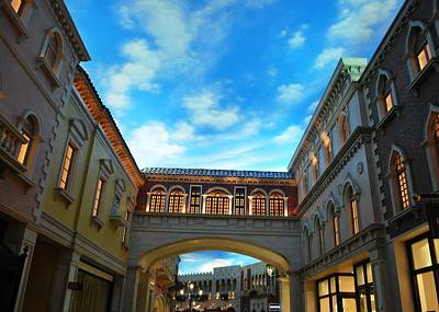 Photograph - The Venetian Shops 3 by Matt Harang