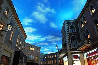 Photograph - The Venetian Shops by Matt Harang