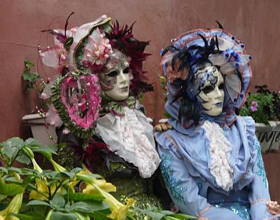 Photograph - The Venetians by John Bushnell