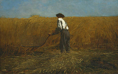 Reaper Painting - The Veteran In A New Field by Winslow Homer