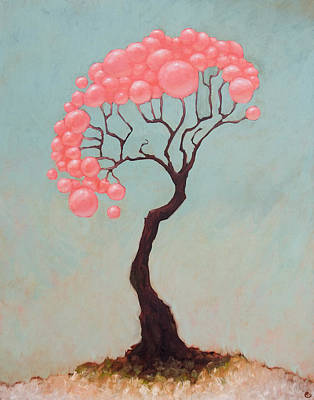 Balloons Painting - The Vibes by Ethan Harris
