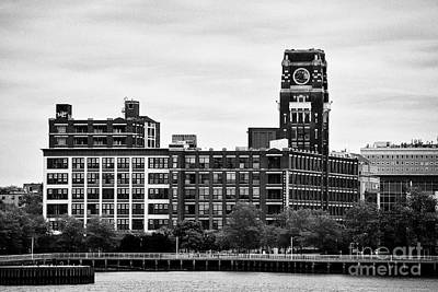 The Victor Lofts Building Former Radio Corp Of America 'nipper' Building On The Camden Waterfront Ne Art Print