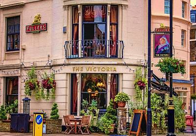 Photograph - The Victoria by Wallaroo Images