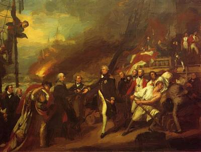 Painting - The Victory Of Lord Duncan 1799 by Copley John Singleton