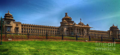 Photograph - The Vidhana Soudha by Pravine Chester