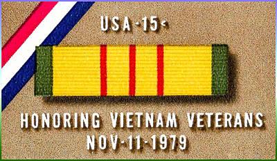 Belfry Painting - The Vietnam Veterans by Lanjee Chee