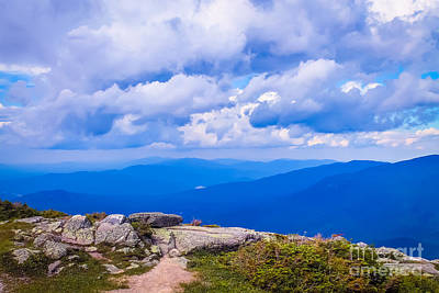 Hdr Landscape Photograph - The View 1 by Claudia M Photography