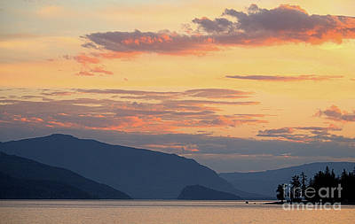 Sunset Photograph - The View 2 by Victor K