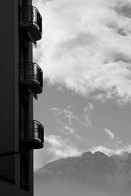 Vevey Photograph - The View by Colleen Williams
