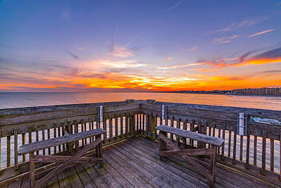 Photograph - The View Folly Beach Sc by Donnie Whitaker