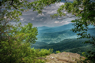 Photograph - The View From Blowing Rock by John Haldane