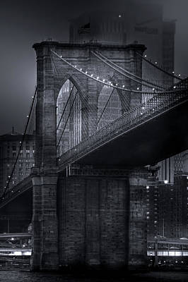 Photograph - The View From Brooklyn by Mark Andrew Thomas