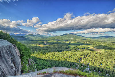 Photograph - The View From Cathedral Ledge by Brian MacLean