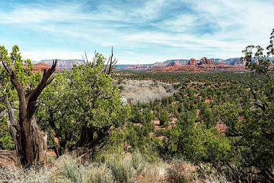 Photograph - The View From Coyote Ridge Trail In Red Rock State Park by Belinda Greb