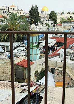 Photograph - The View From Damascus Gate by Munir Alawi