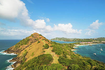 Photograph - The View From Fort Rodney On Pigeon Island Gros Islet by Toby McGuire