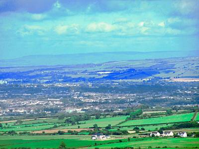 Photograph - The View From Grianan Of Aileach by Stephanie Moore