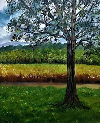 Painting - The View From Here by Lisa Aerts