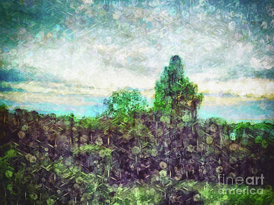 Outside My Window Digital Art - The View From My Room by Davy Cheng